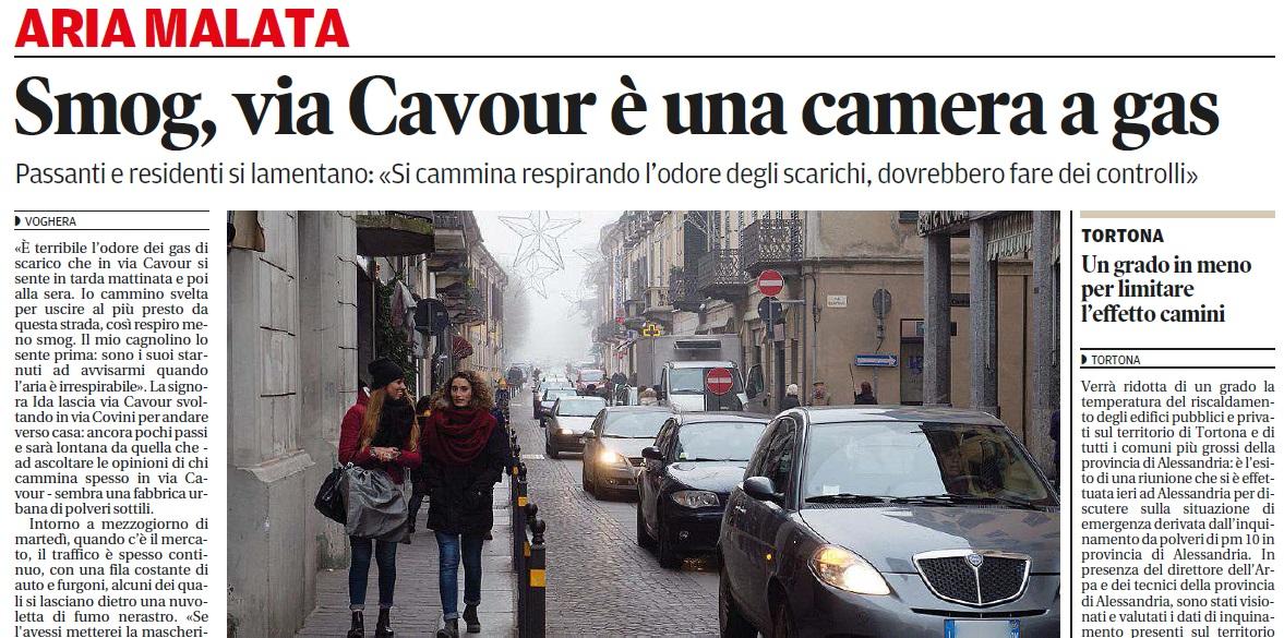smog via cavour