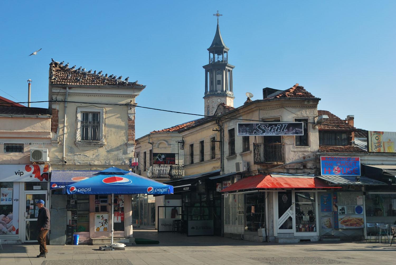 News shops in the old bazaar